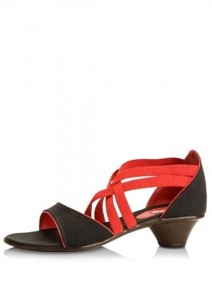 LAMERE Low Raise Sandals With Multiple Straps from koovs.com