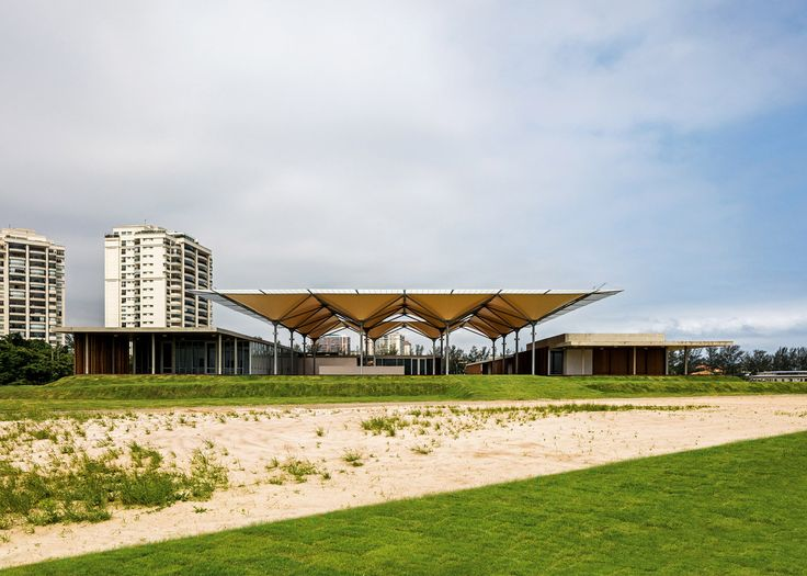Rio 2016 Olympic Golf Course features tree-like canopy that collects rainwater to irrigate the course