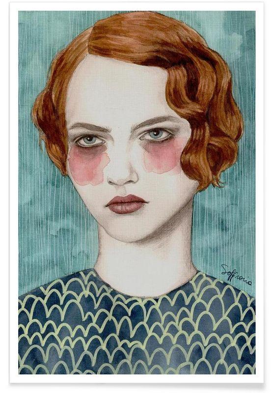 Sasha - Sofia Bonati - Affiche premium