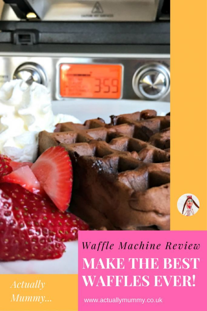 Review: The Sage Smart Waffle makes perfect waffle-making easy. Check out our chocolate chip waffles!