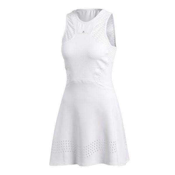 Karu Fructífero Hostal  Adidas Women's by Stella McCartney Barricade Tennis Dress (White)   Tennis  dress, Dresses, White dress