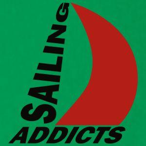 hodie black logo Sailing Addicts TM