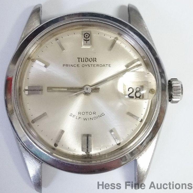 Vintage Rolex Tudor Oysterdate Running Mens Calendar Watch Ref 7996 #Rolex #Sport