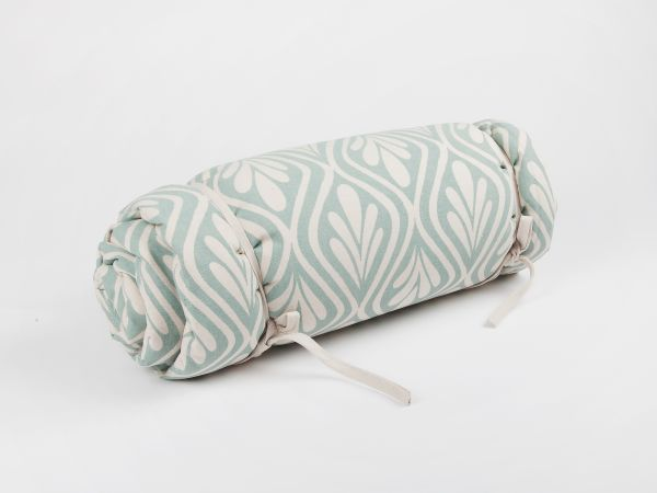 Yuppiechef - Henna Leaves Picnic Blanket in colour 'Duckegg' (R800)