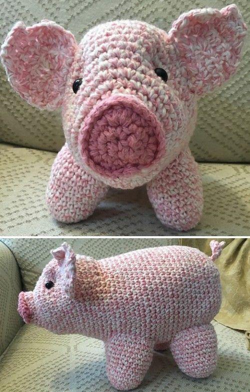 Amigurumi Pig Tutorial | Amigurumi | Amigurumi, Crochet toys ... | 785x500