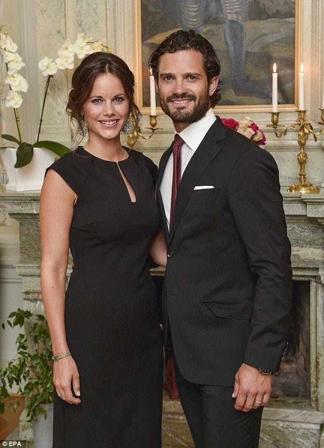 Sweden's Prince Carl Philip and Princess Sofia have announced that the Princess is expecting their first child