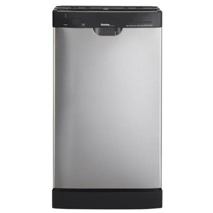 """Danby 18"""" Built-In Stainless Steel Dishwasher Primary Image"""