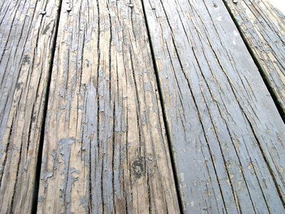 things to do - refinish deck (flip the boards! genius!!)