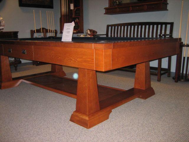 Brunswick Billiards Artisan Pool Table Sold