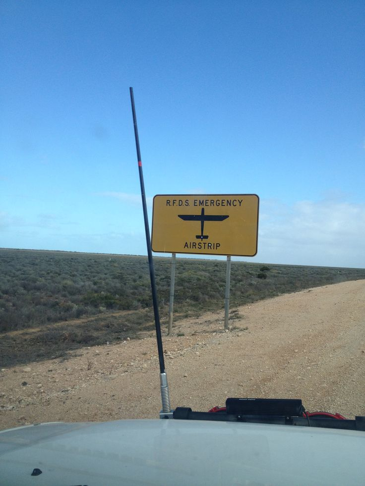 #aussie #outback #nullarbor Yes they do land planes on the highway in emergencies