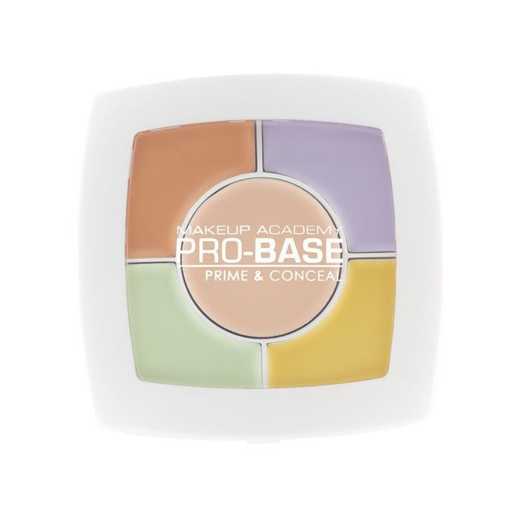 MUA's Prime and Conceal Palette is a collection of correcting creams suitable for a multitude of complexions.  Follow our handy tips for best results:  - Lilac = Illuminates and mutes yellow undertones - Green = Neutralises and reduces redness - Yellow = Brightens and conceals purple tones - Peach = Adds radiance - Middle colour = Highlight