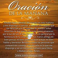 Oración por la mañana