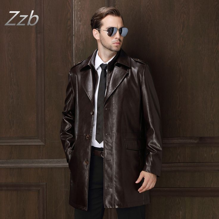 Fashion Brand Men Autumn and Winter Leather jackets solid color Suit collar leather Trench Coat  Man  outwear Gabardina de cuero     Tag a friend who would love this!     FREE Shipping Worldwide     Get it here ---> http://onlineshopping.fashiongarments.biz/products/fashion-brand-men-autumn-and-winter-leather-jackets-solid-color-suit-collar-leather-trench-coat-man-outwear-gabardina-de-cuero/