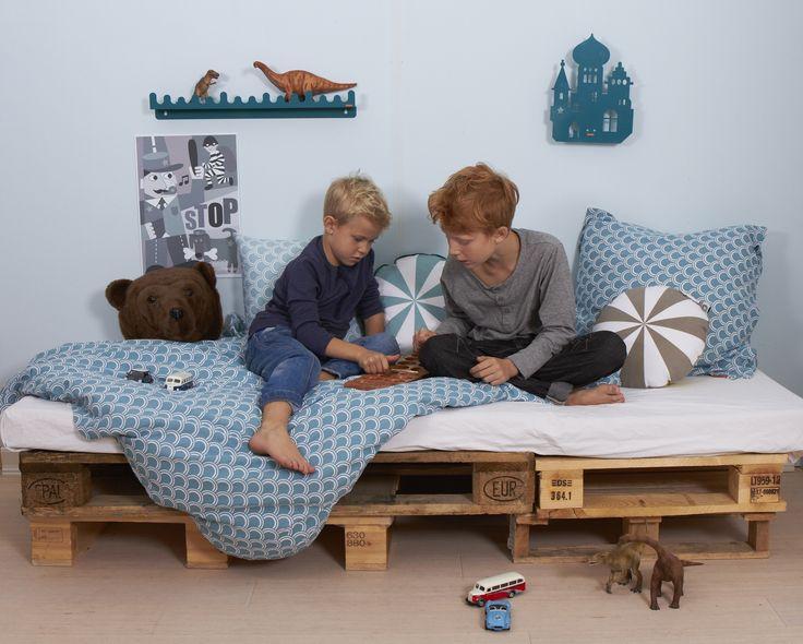 SoulMate Lion Bedding By Roommate Www.roommate.dk #roommatedk  #organicbedding #beddingforboys