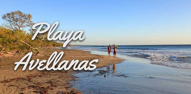 Playa Avellanas Costa Rica Best For Surfing Drinks And Sunset Surfing Surfing Waves Mavericks Surfing
