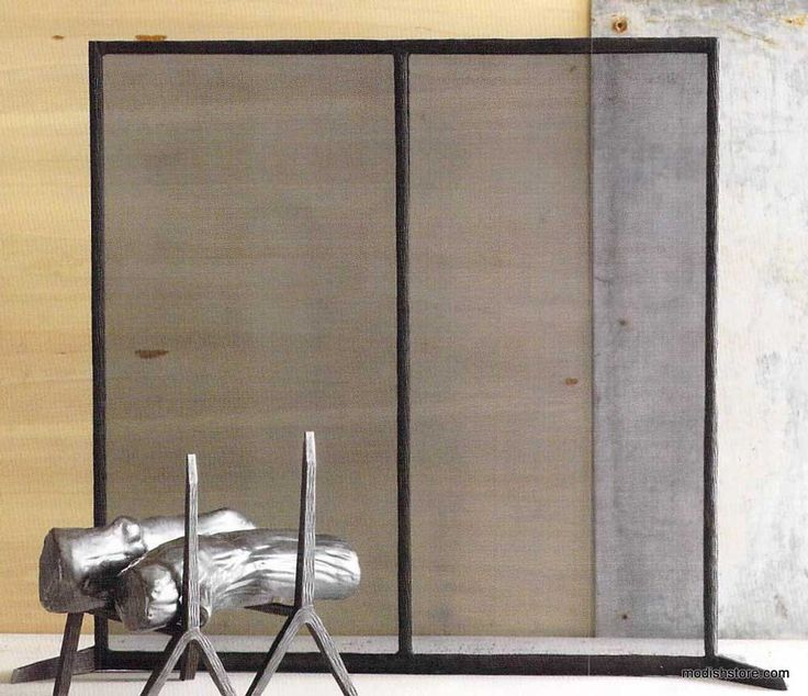 Roost Bark Hearth Fireplace Screen Tall - Images About Fireplace Accessories |Modish On Pinterest