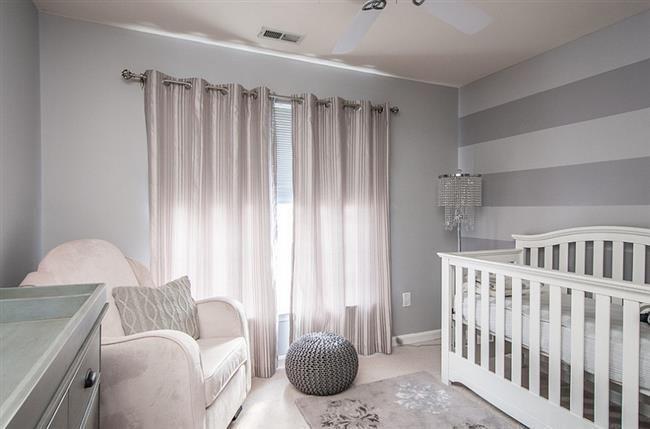 Стильная детская комната девочки.