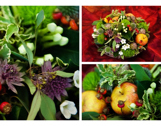 Autumn Floral Inspiration – All the Leaves are Brown, and the Sky is Grey…..