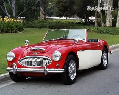 Austin Healy 3000. Always loved these!  and still want one My dad sold one to Tony Beatrice in the 50's.