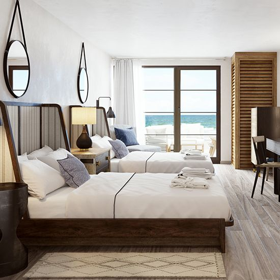 Where to Go in the Hamptons This Summer  Photo: Gurney's Montauk Resort and Seawater Spa