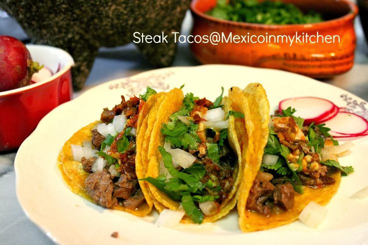 Authentic carne asada tacos - Mexico in my Kitchen
