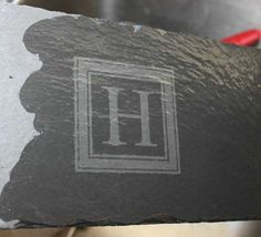 How to Etch Slate with Etching Cream