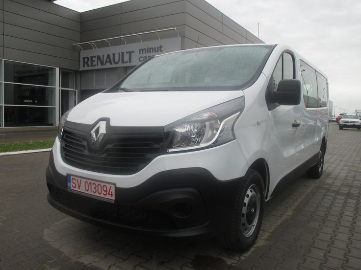Looking for a good minibus to rent online? You can try the new Renault trafic combi: it's a great car that accommodate up to 9 people!