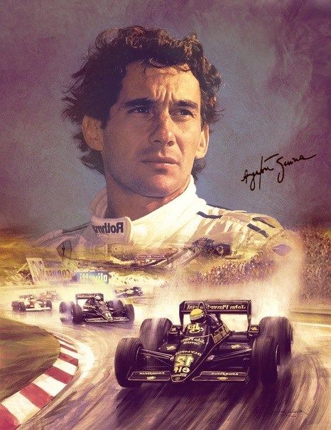 I was born the next year after Senna's death. I never saw him driving personally but from what I have seen and heard about him, his videos from youtube and all over internet, he is the best driver ever, for me. You could have been the GOAT of F1 and Life is only cruel. Rest in peace Ayrton. :'(