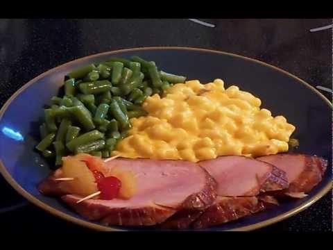 Baked Honey Glazed Smoked Ham | Main Dishes | Pinterest