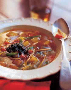 Ina Garten's Provencal Vegetable Soup