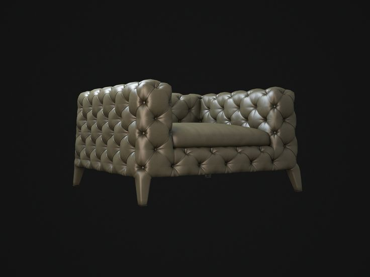3D Furniture Models Arketipo Windsor Armchair