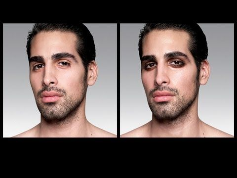 """Really truly love this tutorial for men's makeup """"guy-liner"""" application.  Johnny Depp doesn't roll out of bed looking the way he does... well, that is unless he didn't take his makeup off the night before.  I may not wear makeup that often but power to the men that do!"""