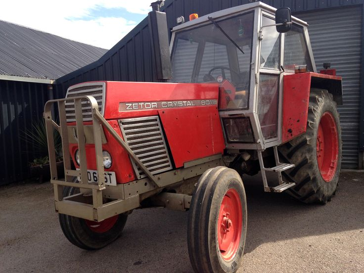 Zetor 8011 tractor specification