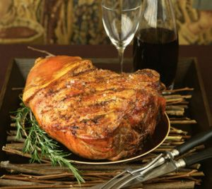 Smoked Pork Shoulder / Picnic Ham - © Lisa Charles Watson/FoodPix
