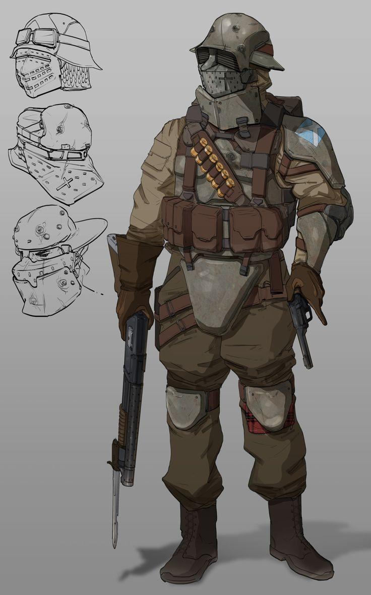 Dieselpunk Soldier 147 best ideas about S...