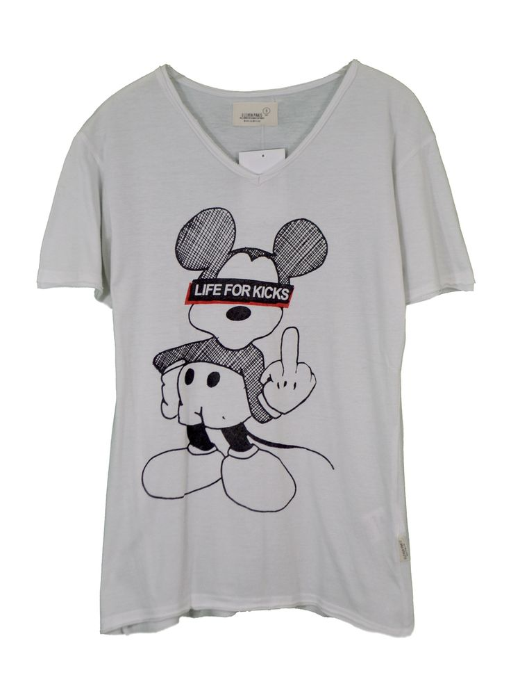 """♥ ELEVEN PARIS ♥ T-SHIRT FEMME """"MICKEY"""" T. 36/38 via LES COCOTTES. Click on the image to see more!"""