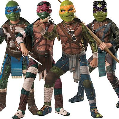 Child #teenage mutant ninja turtles tmnt #movie fancy dress costume #outfit kids,  View more on the LINK: http://www.zeppy.io/product/gb/2/191368627130/