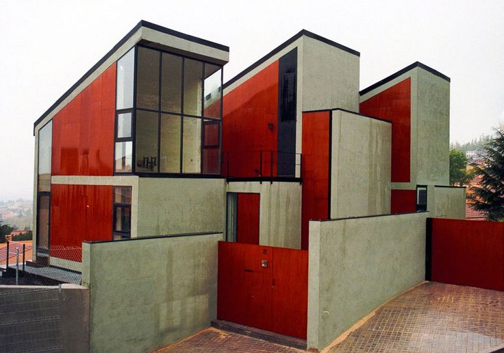 Dosmasuno Arquitectos - House and studio, Madrid 2000.