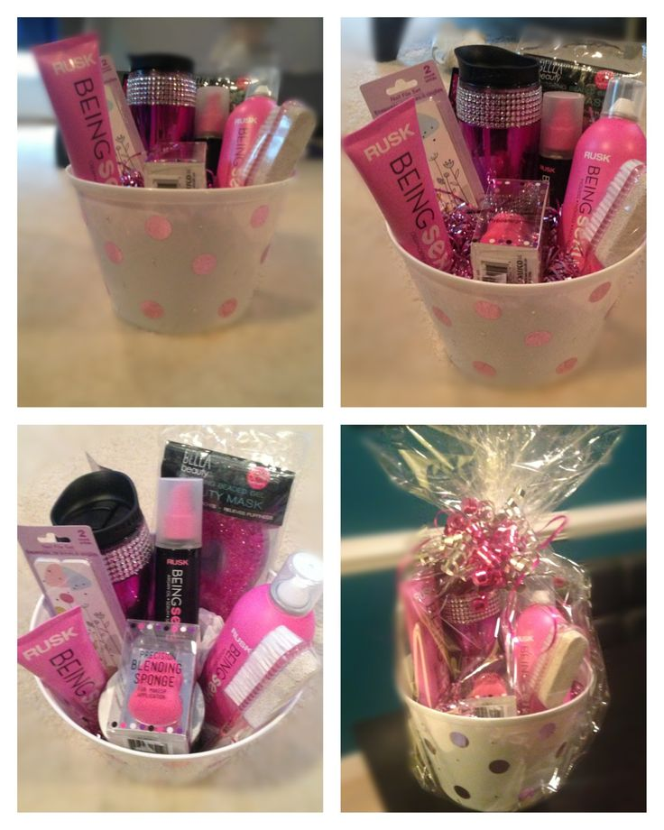 Birthday Gift Basket! Hair Products, Hair Comb Or Brush