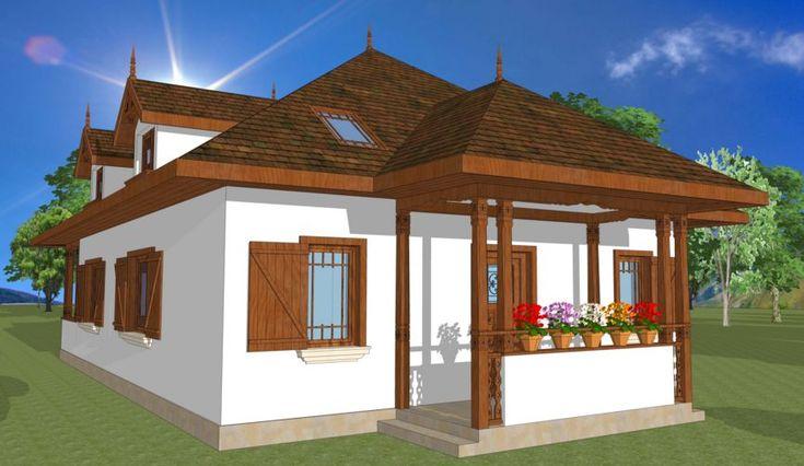 Stiluri de case romanesti - frumusete autentica