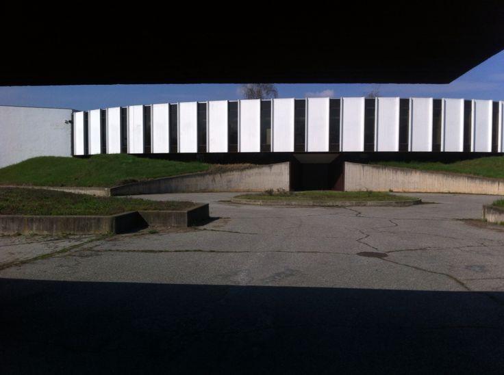 Niemeyer O_Burgo group sede amministrativa cartiera, 1981, San Mauro, Torino
