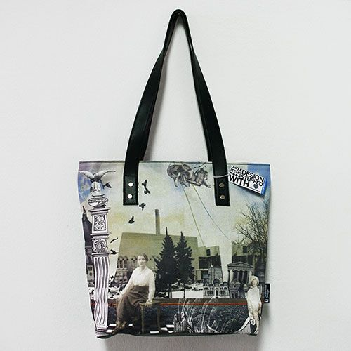 """Sweet Melancholia"" A bag in retro style with a sense of melancholia. Only for those who prefer bags that hide a mystery."