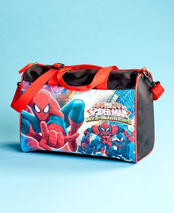 Spider Man Overnight Bag Travel to Friends or Grandma or Gym Bag