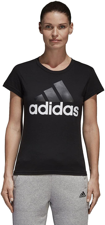 Adidas Ess Li Sli Tee Shirt Damen In 2020 Shirts Adidas Damen T Shirt
