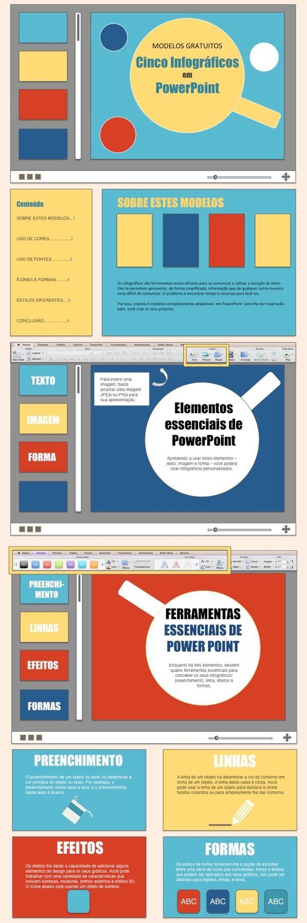 Infográficos são uma ferramenta muito eficaz para se comunicar e cativar a atenção do leitor. Veja como criar um infográfico com powertpoint.