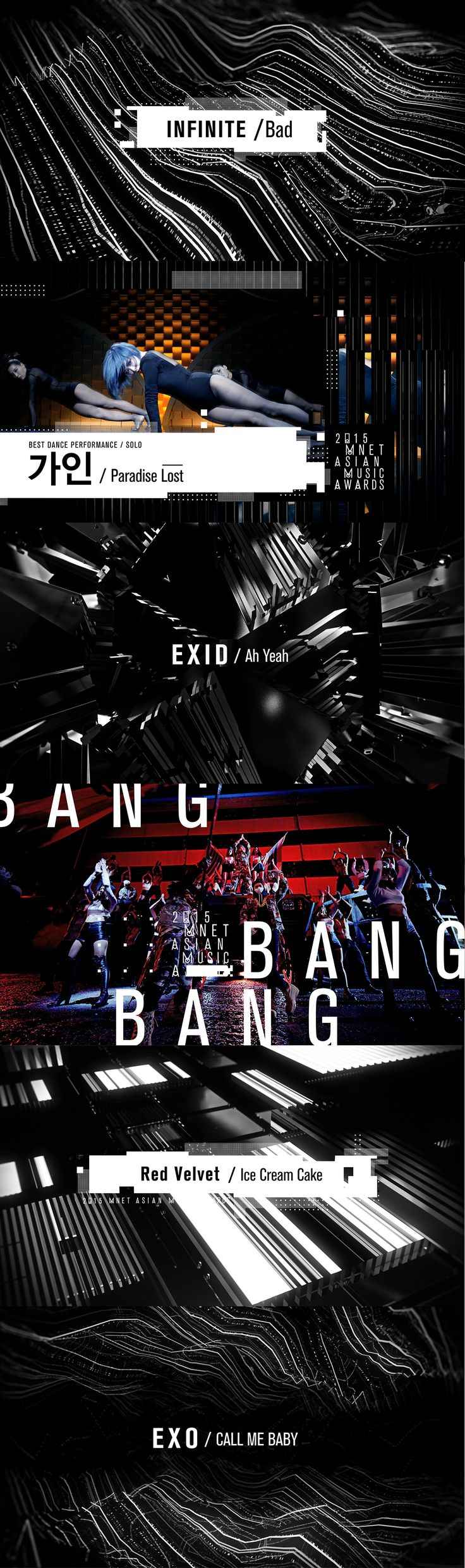2015 Mnet Asian Music Awards Nominees