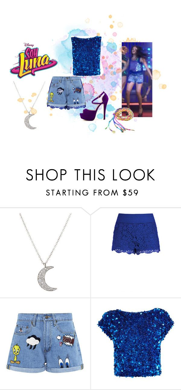 """soy luna"" by maria-look on Polyvore featuring Finn, City Chic, Paul & Joe Sister and Coast"