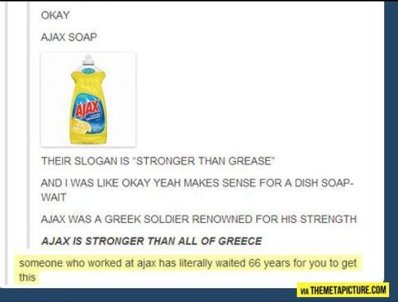 Oh my word. How did I not see this after reading The Iliad for high school?!
