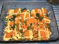 Eindelijk heb ik ze een keer gekocht: zoete aardappelen. Prachtig oranje waren ze van binnen. De smaak zit tussen wortel en aardappel in. Dit recept is...