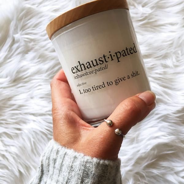 Exhaustipated Candle | almacustomdesigns